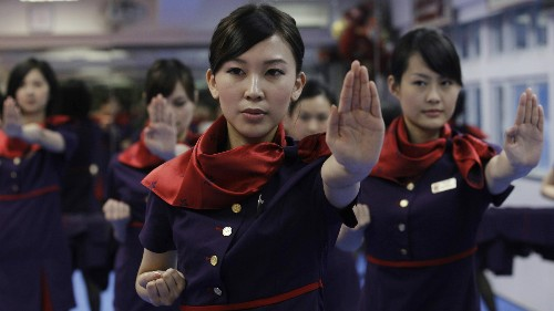 Airlines are dealing with unruly passengers by training flight attendants in martial arts