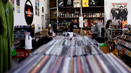 Vinyl is the new Netflix (but the old DVDs-on-demand Netflix)