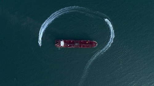 Satellites find oil tankers seized by Iran
