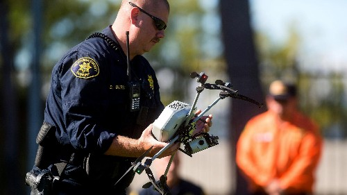 North Dakota is the first state in the US to legalize police use of drones with tasers and pepper spray