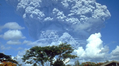 25 years ago today, a single volcano in the Philippines chilled the entire earth