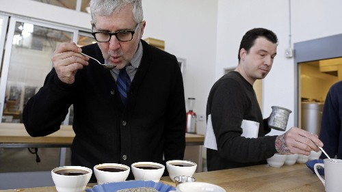 Why high-flying tech investors are putting their money in a coffee shop