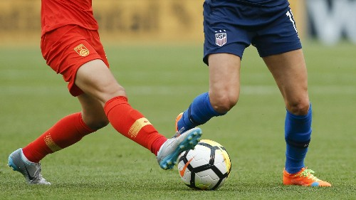 The US gets nearly all of its soccer balls from China. But the goal posts are moving