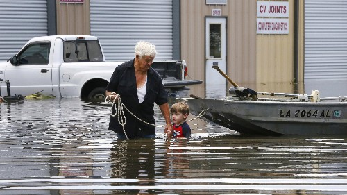 The Baton Rouge flooding proves just how little coastal elites care about the rest of America