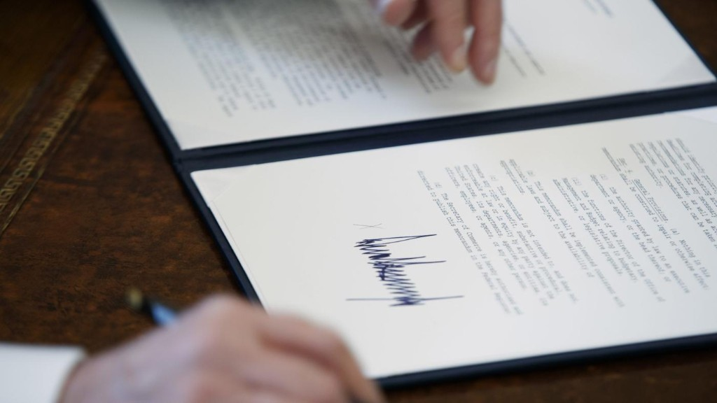 US president Donald Trump has signed seven executive orders so far. Read them here