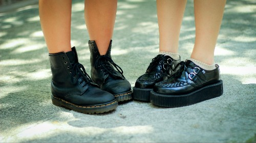 Dr. Martens, the counterculture boot, is finding a new following in Asia