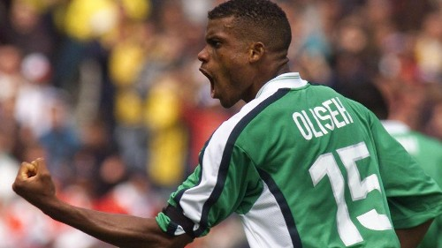 Nigeria's football team coach Sunday Oliseh just quit his job on Twitter