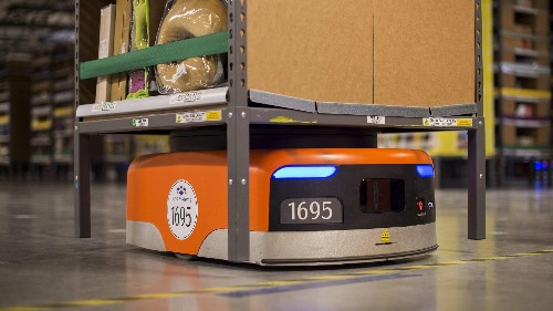 There are 170,000 fewer retail jobs in 2017—and 75,000 more Amazon robots