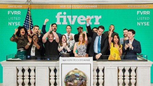 We hired Fiverr workers to write about Fiverr's IPO