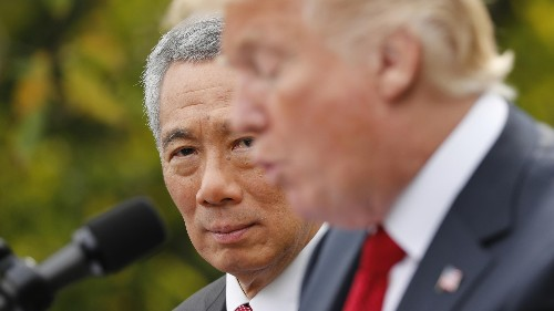 Singapore prime minister Lee Hsien Loong schooled Trump on trade