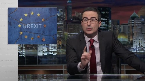 """""""There are no f*cking do-overs"""": John Oliver nails everything that's wrong with Brexit"""