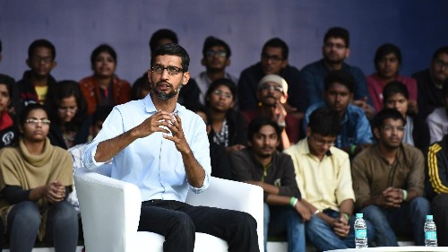 Sundar Pichai at IIT-Kharagpur: When a shy Indian engineer returned to his alma mater as Google's CEO