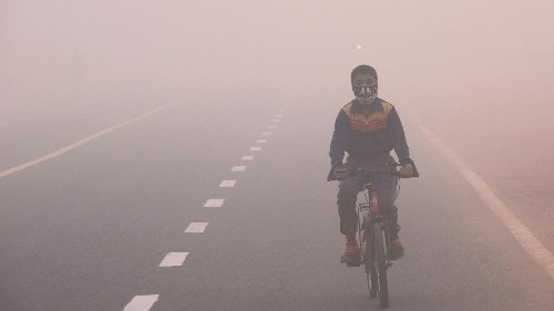 At last, India is on track to beat China at something—air pollution