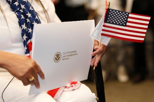 More immigrants became US citizens last year amid Trump immigration policies