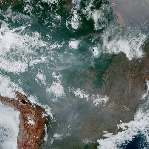 The fires in the Amazon were likely set intentionally