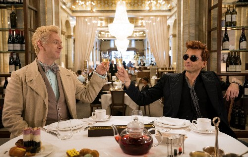 """SXSW 2019: Amazon is flexing its marketing muscle for """"Good Omens"""""""