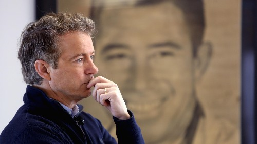 Libertarian Rand Paul is dropping out of the race for the White House