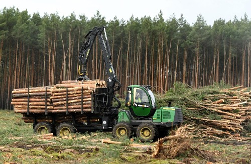"""Tesla has defeated """"tree pirates"""" and resumed plowing down a forest in Germany"""
