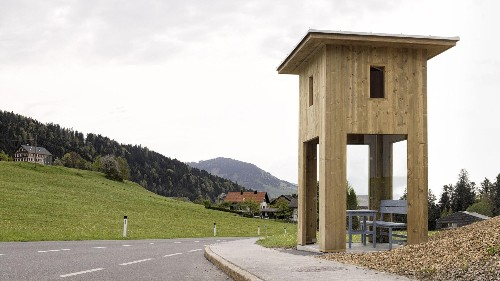 Seven of the world's most unusual bus stops are in this small Austrian town