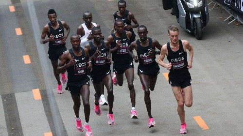 It took 43 of the world's fastest runners to break the 2-hour marathon barrier