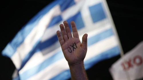 """Greece votes """"no""""—absolutely no one knows what comes next"""