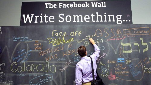 Facebook is predicting the end of the written word