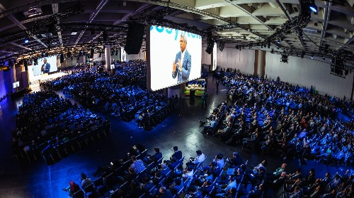 Google Cloud Next, the conference for the search giant's next big business