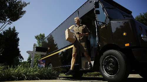 UPS drivers don't turn left—and it saves them 10 million gallons of gas a year