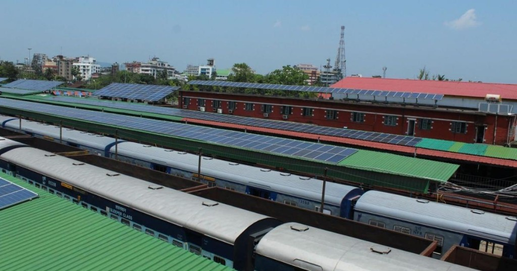India now has a railway station that's fully powered by solar energy
