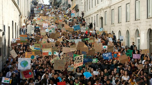 Where young people all over the world marched for action on climate change