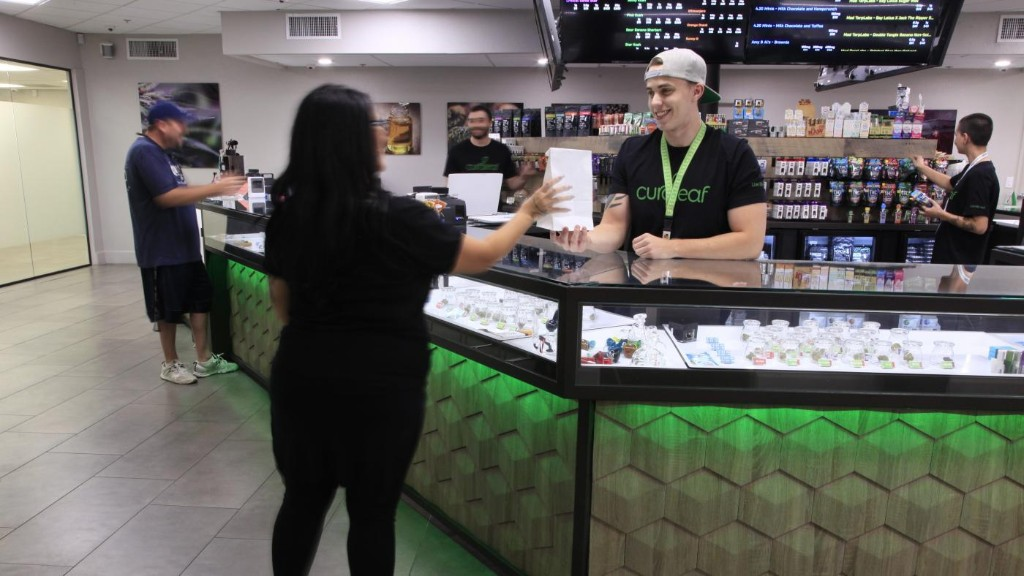 Curaleaf wants to be the Starbucks of weed
