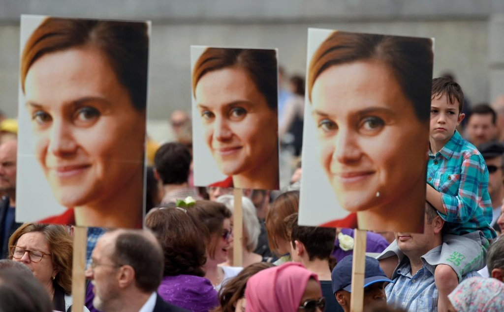 A week after her brutal death, Jo Cox's district votes to leave the EU