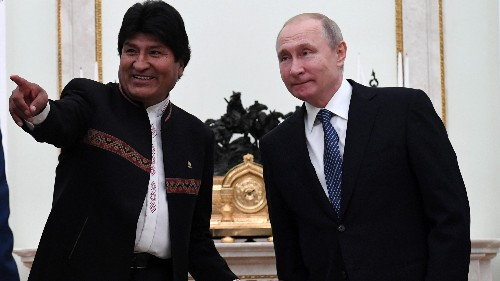 Russia allegedly helped Evo Morales in Bolivian election
