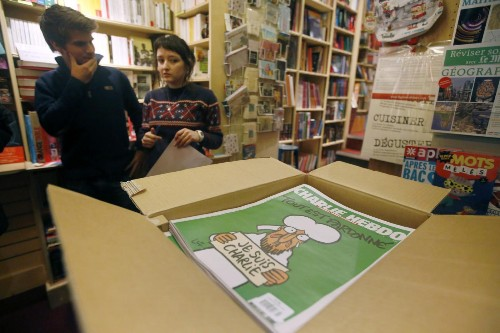 $500,000 will buy you a copy of Charlie Hebdo online