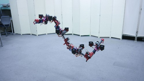 Scientists built a flying robot dragon