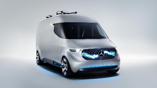 Mercedes made a crazy van with built-in drones and robot arms to deliver the packages of tomorrow