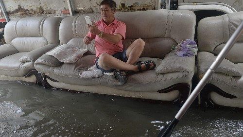 Major Chinese cities can't seem to figure out basic drainage and flood prevention