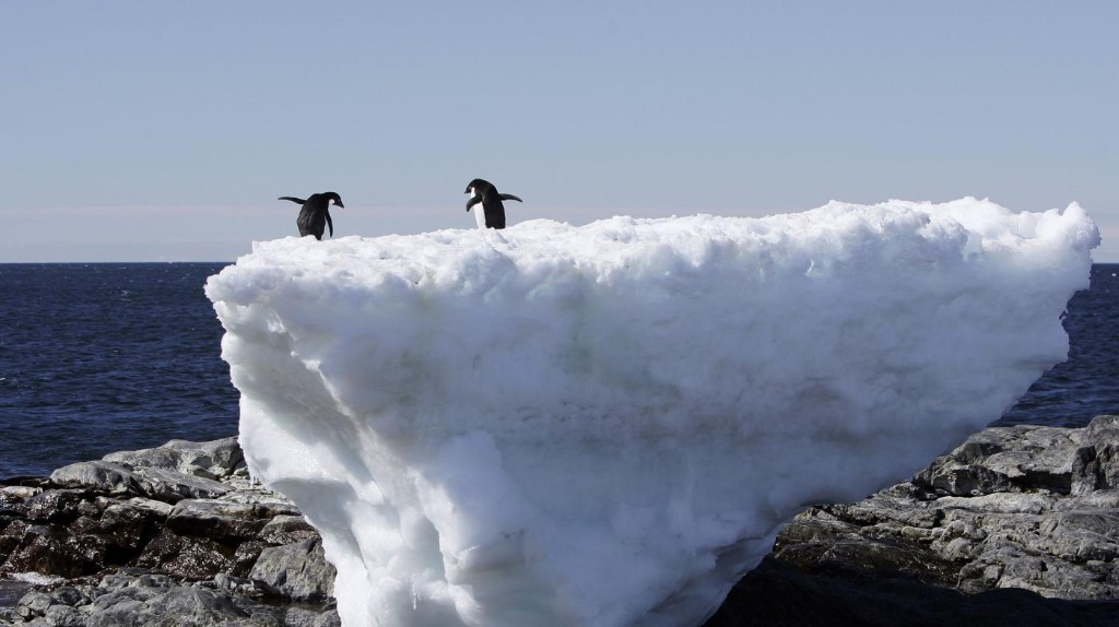 Scientists just realized a chunk of Antarctica is leaking trillions of liters of water into the sea.