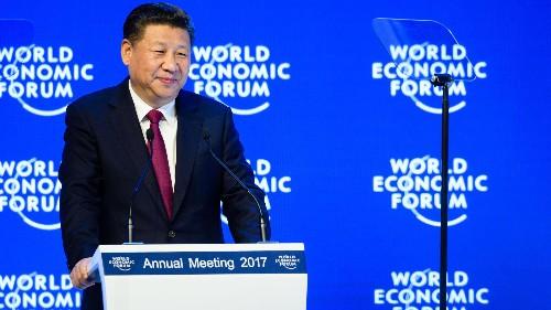 Xi Jinping rebuked Donald Trump, positioning himself as champion of globalization