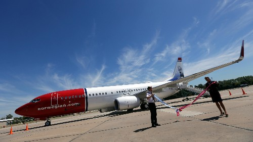 A Norwegian Air 737 has been stuck in Iran for more than a month