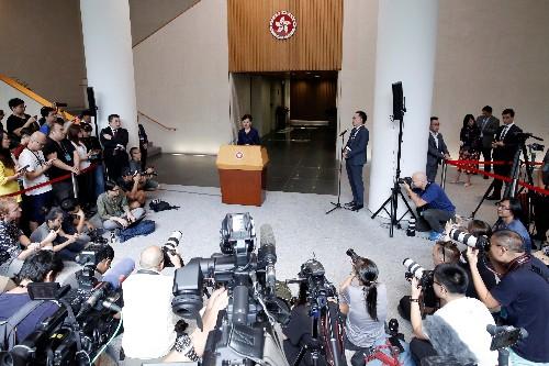 """Carrie Lam offers Hong Kong """"dialogue,"""" but not key demands"""