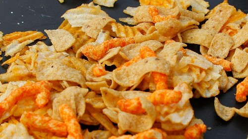 How crunchy your food is may impact how much of it you eat