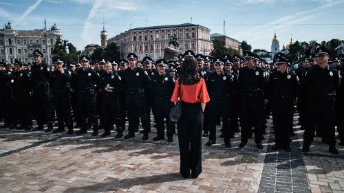 Photos: The women who transformed Ukraine's police force