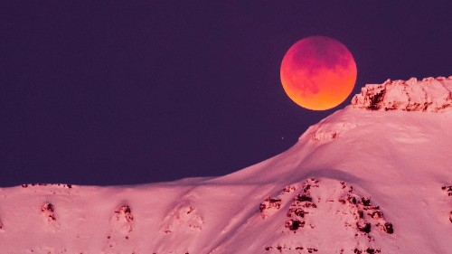 Look up at the moon every night—not just during the lunar eclipse
