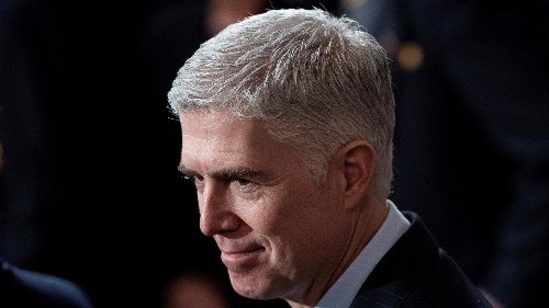 US Supreme Court justice Neil Gorsuch's letter to a law student
