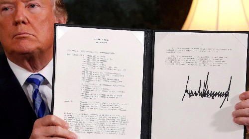 It's not just Trump. The US has always broken its treaties, pacts and promises