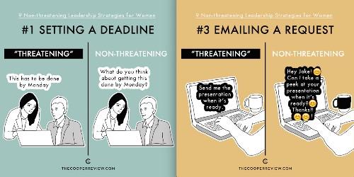 Nine non-threatening leadership strategies for women