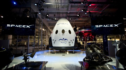 SpaceX's mission today tested if it can protect astronauts on its spaceship