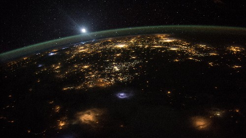 Pretty much anyone on Earth with a radio can call the ISS and chat with astronauts