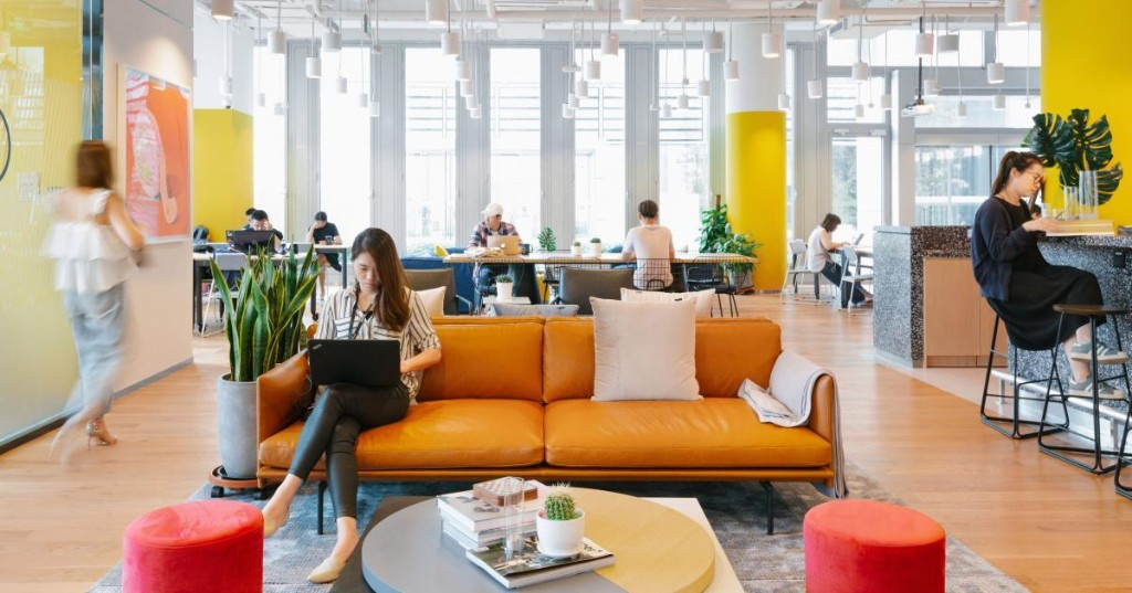 WeWork and Google offices are a lot like exploitative company towns of the past